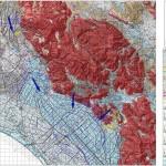 Cartografia idrogeologica in scala 1:50000 finalizzata alla valutazione sullo stato di conservazione della risorsa idrica sotterranea - Pianura Pontina.