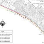 Evoluzione della linea di costa al fine di programmare interventi di protezione e mitigazione dell'erosione marina ai danni di Torre Flavia Ladispoli Rm